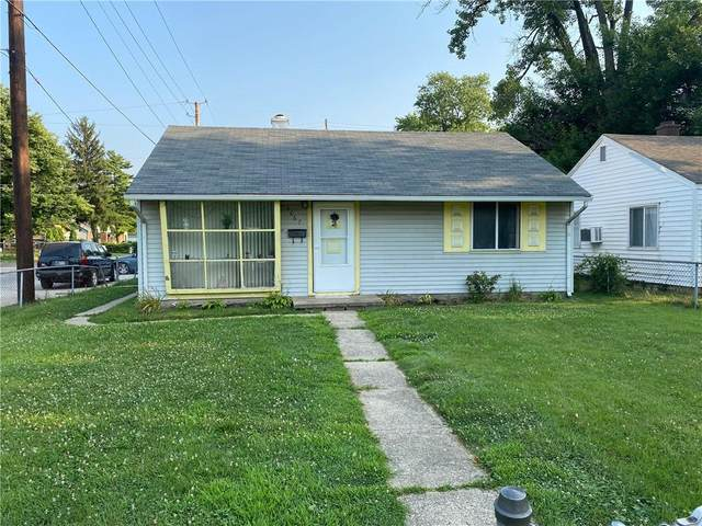 4067 E 34TH Street, Indianapolis, IN 46218 (MLS #21801950) :: Pennington Realty Team