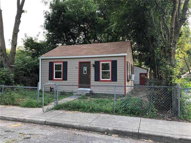 315 Cable Street, Indianapolis, IN 46222 (MLS #21801962) :: The Evelo Team