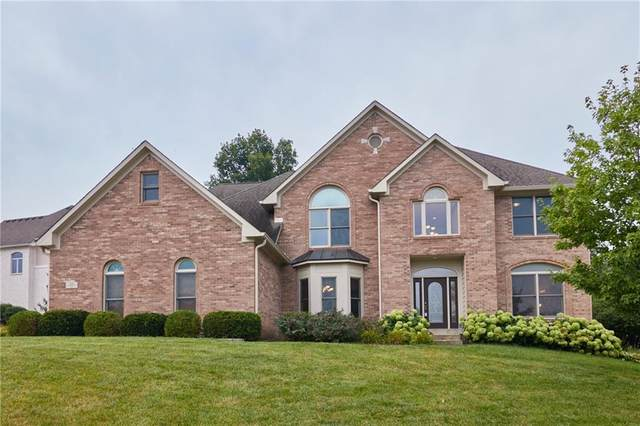 5517 Westbourne Court, Greenwood, IN 46143 (MLS #21801983) :: The Indy Property Source