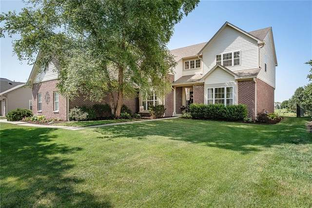 13046 Double Eagle Drive, Carmel, IN 46033 (MLS #21802032) :: The Evelo Team