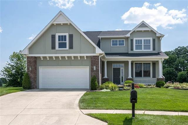 13508 Ashbury Drive, Carmel, IN 46032 (MLS #21802072) :: The Indy Property Source