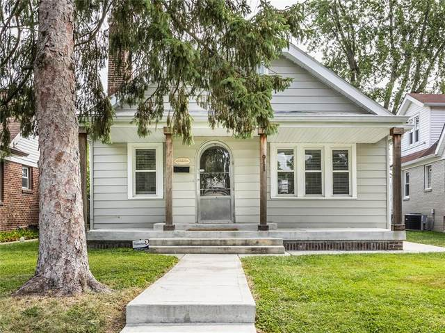 911 N Leland Avenue, Indianapolis, IN 46219 (MLS #21802080) :: The Indy Property Source