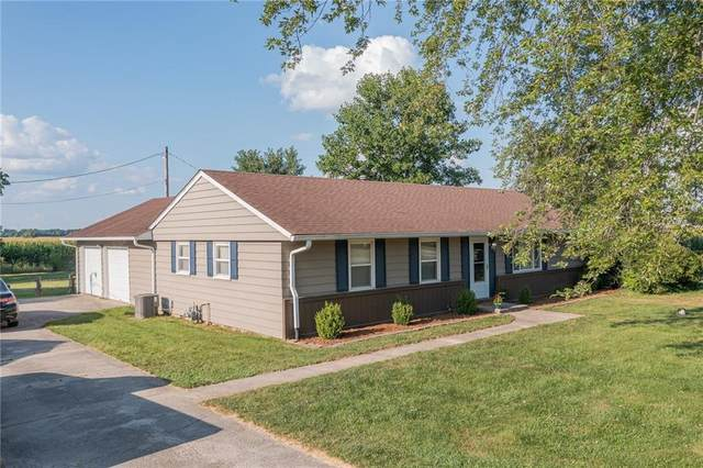 1284 E 400 N, Greenfield, IN 46140 (MLS #21802089) :: Mike Price Realty Team - RE/MAX Centerstone