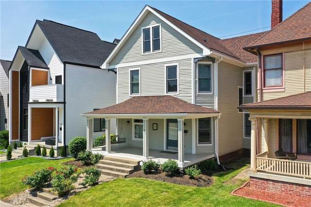 1932 Central Avenue, Indianapolis, IN 46202 (MLS #21802132) :: The Indy Property Source