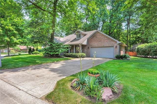 7419 Cherryhill Drive, Indianapolis, IN 46254 (MLS #21802137) :: AR/haus Group Realty