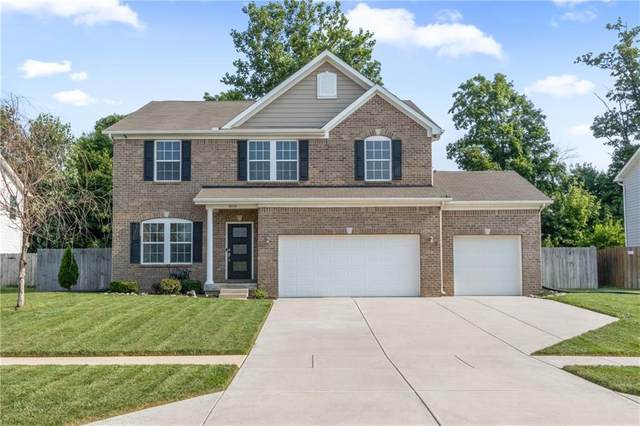 3056 Reflection Court, Greenwood, IN 46143 (MLS #21802141) :: The Indy Property Source