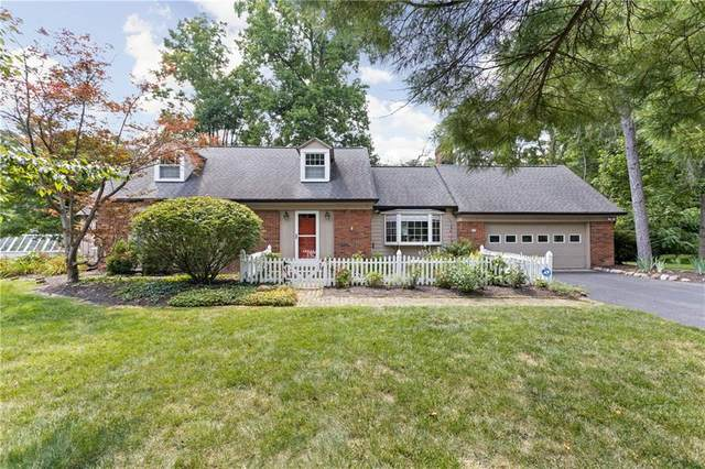 7702 Clarendon Road, Indianapolis, IN 46260 (MLS #21802258) :: The Indy Property Source