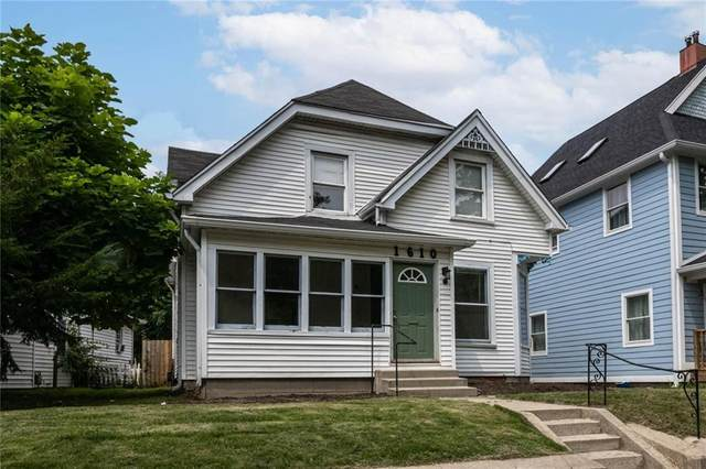 1610 E 12TH Street, Indianapolis, IN 46201 (MLS #21802280) :: The ORR Home Selling Team