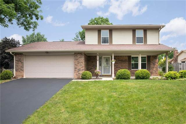 512 Colbarn Court, Fishers, IN 46038 (MLS #21802502) :: Pennington Realty Team