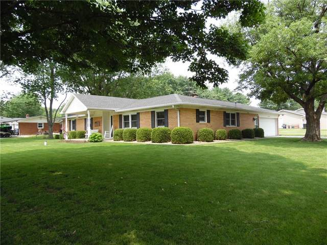 9507 N Pleasant Drive, Fairland, IN 46126 (MLS #21802515) :: The Indy Property Source