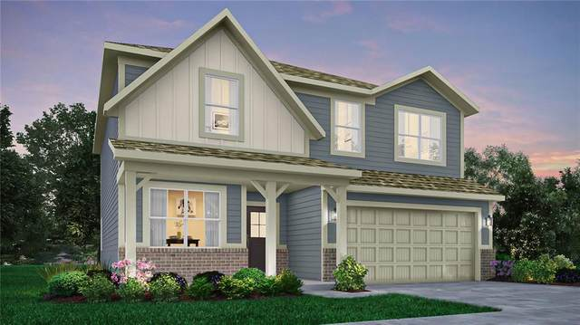 4725 W Safford Drive, New Palestine, IN 46163 (MLS #21802542) :: The Indy Property Source