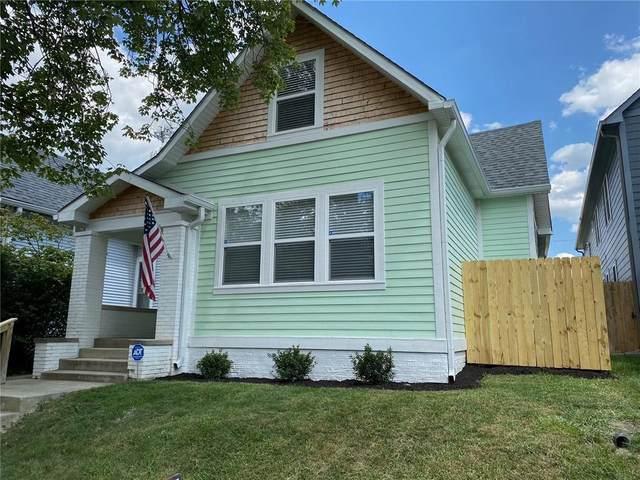 1513 S Talbott Street, Indianapolis, IN 46225 (MLS #21802608) :: Heard Real Estate Team | eXp Realty, LLC