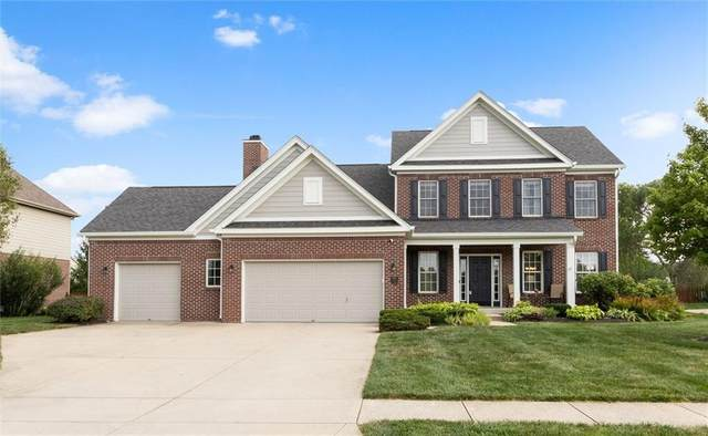 8853 Pin Oak Drive, Zionsville, IN 46077 (MLS #21802613) :: Mike Price Realty Team - RE/MAX Centerstone