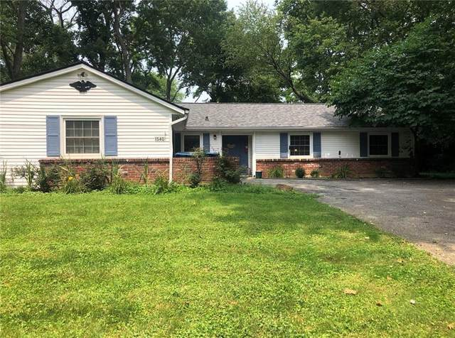 1540 W 72ND Street, Indianapolis, IN 46260 (MLS #21802654) :: Pennington Realty Team
