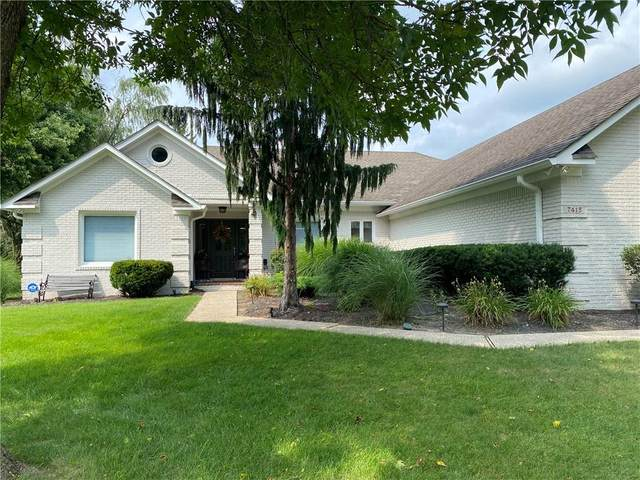 7415 Oakland Hills Court, Indianapolis, IN 46236 (MLS #21802656) :: Pennington Realty Team