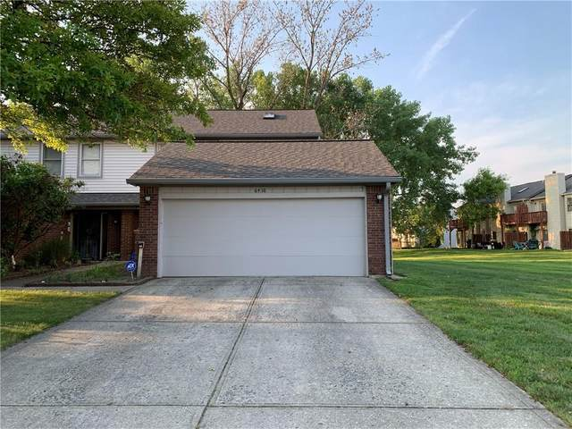 6418 Bay Harbor Lane, Indianapolis, IN 46254 (MLS #21802688) :: The Evelo Team