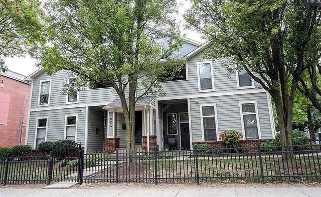 224 E 13th Street B, Indianapolis, IN 46202 (MLS #21802689) :: The ORR Home Selling Team