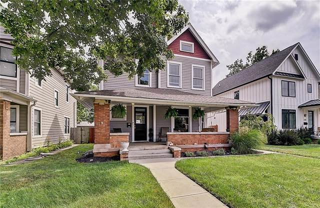 2351 N College Avenue, Indianapolis, IN 46205 (MLS #21802700) :: Mike Price Realty Team - RE/MAX Centerstone