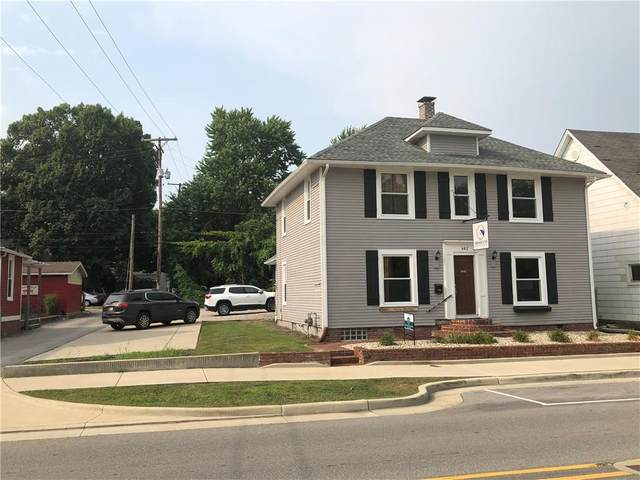 462 E Jefferson Street, Franklin, IN 46131 (MLS #21802764) :: The Indy Property Source