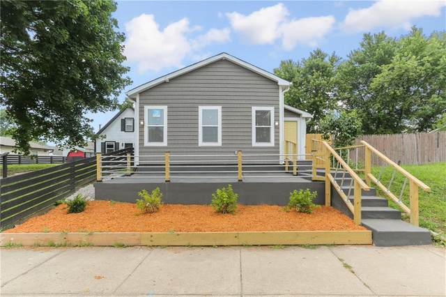 150 W Arizona Street, Indianapolis, IN 46225 (MLS #21802790) :: Mike Price Realty Team - RE/MAX Centerstone