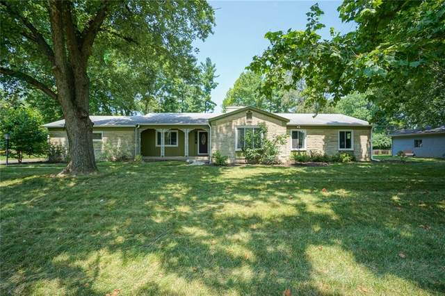 430 Golf Lane, Indianapolis, IN 46260 (MLS #21802801) :: The Evelo Team