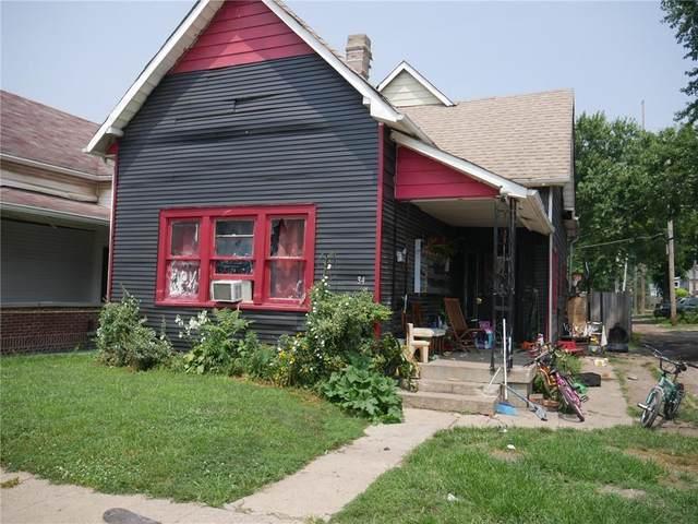 34 Iowa Street, Indianapolis, IN 46225 (MLS #21802857) :: The Evelo Team