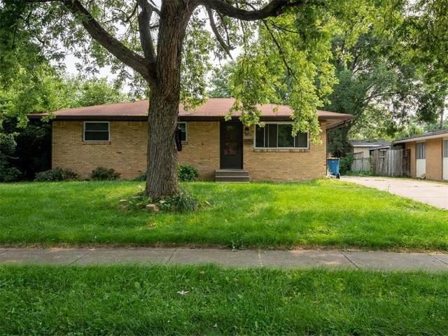 5019 Elmhurst Drive, Indianapolis, IN 46226 (MLS #21802871) :: Mike Price Realty Team - RE/MAX Centerstone