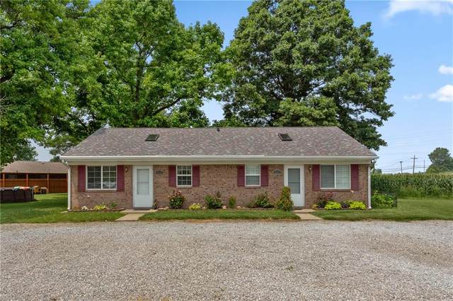 2355/2357 N Michigan Road, Shelbyville, IN 46176 (MLS #21802875) :: The ORR Home Selling Team