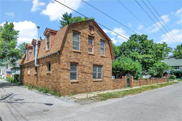 1802 N Talbott Street, Indianapolis, IN 46202 (MLS #21802895) :: Anthony Robinson & AMR Real Estate Group LLC