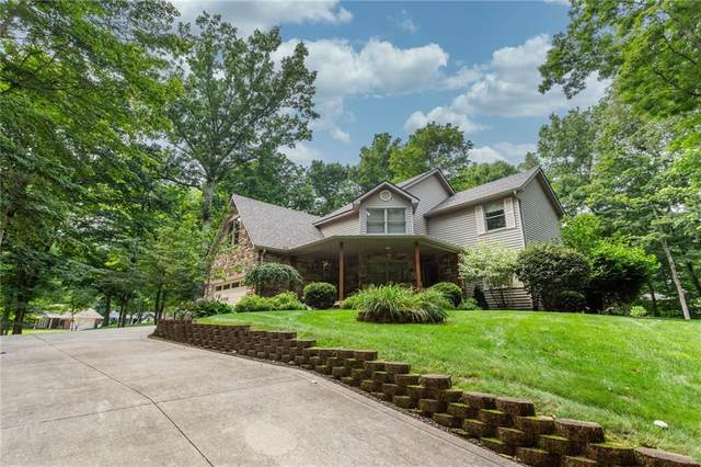 4636 Clifty Drive, Anderson, IN 46012 (MLS #21802912) :: The ORR Home Selling Team