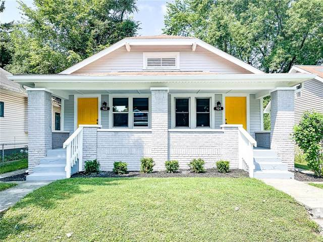922 N Lasalle Street, Indianapolis, IN 46201 (MLS #21802913) :: The ORR Home Selling Team