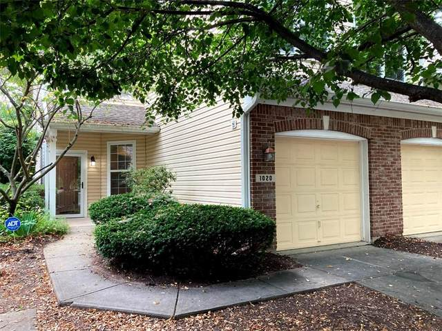 1020 Longwell Place, Indianapolis, IN 46240 (MLS #21802920) :: The Evelo Team