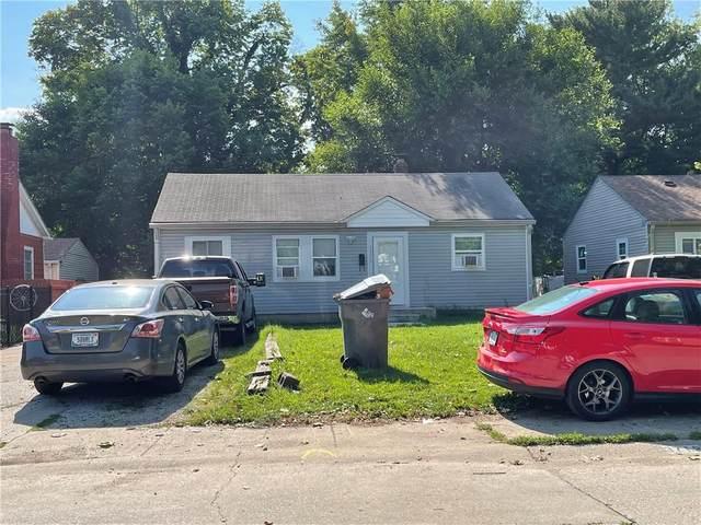 3712 N Rural Street, Indianapolis, IN 46218 (MLS #21802922) :: The ORR Home Selling Team