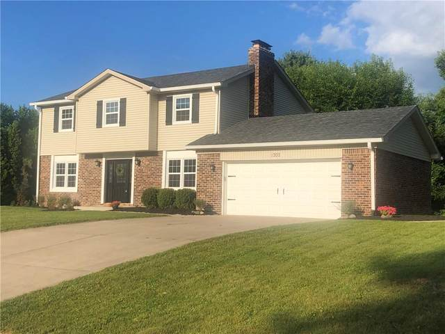 1202 Sherwood Drive, Greenfield, IN 46140 (MLS #21802961) :: Mike Price Realty Team - RE/MAX Centerstone