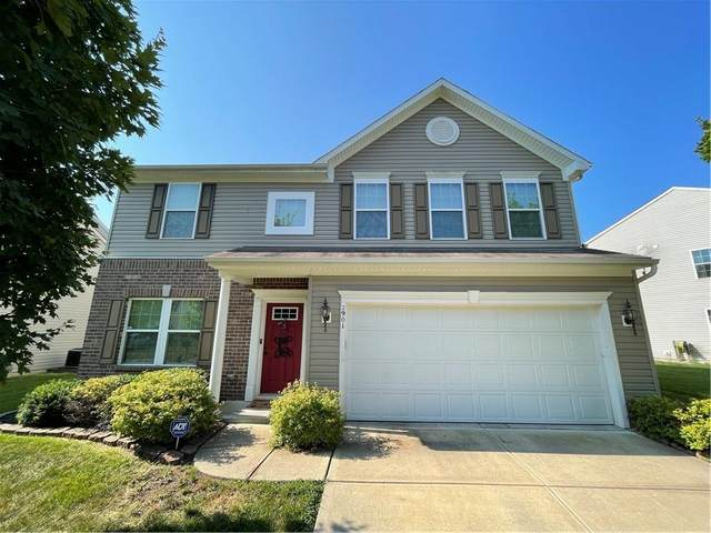 2901 Treehouse Pass, Greenwood, IN 46143 (MLS #21803048) :: The Indy Property Source