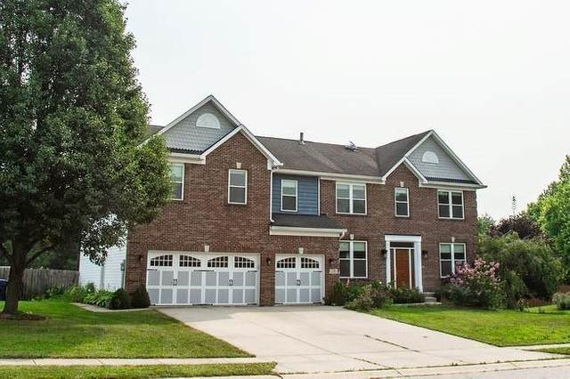1383 Chapman Drive, Greenfield, IN 46140 (MLS #21803059) :: Mike Price Realty Team - RE/MAX Centerstone