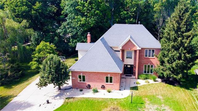 12320 Old Stone Drive, Indianapolis, IN 46236 (MLS #21803133) :: The Evelo Team