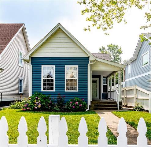1435 Hoyt Avenue, Indianapolis, IN 46203 (MLS #21803153) :: RE/MAX Legacy