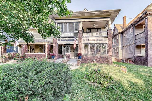 982 Woodruff Place East Boulevard, Indianapolis, IN 46201 (MLS #21803200) :: Pennington Realty Team