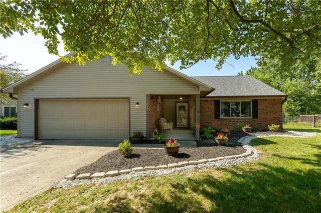 12141 Pebblebrooke Court, Indianapolis, IN 46236 (MLS #21803228) :: The Evelo Team