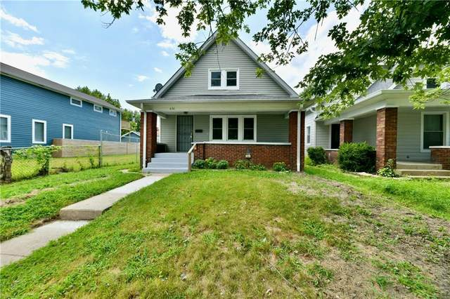 636 N Beville Avenue, Indianapolis, IN 46201 (MLS #21803315) :: Heard Real Estate Team | eXp Realty, LLC