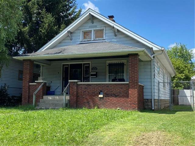 1406 N Dearborn Street, Indianapolis, IN 46201 (MLS #21803331) :: The Indy Property Source
