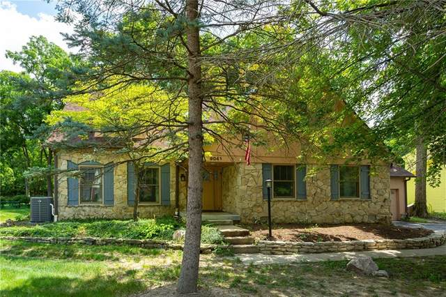 9041 Buckthorne Court, Indianapolis, IN 46260 (MLS #21803436) :: Mike Price Realty Team - RE/MAX Centerstone