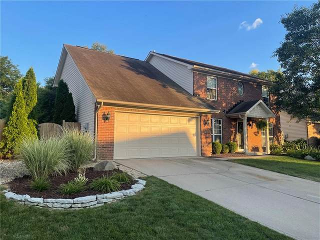 9725 Bradford Knoll Drive, Fishers, IN 46038 (MLS #21803533) :: Anthony Robinson & AMR Real Estate Group LLC