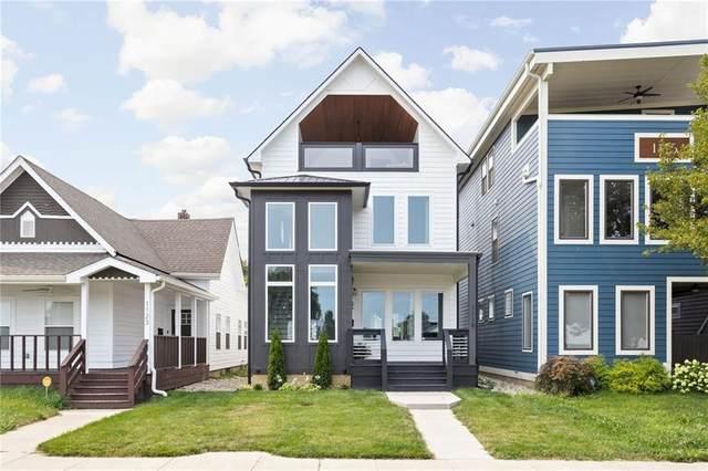 1119 Spann Avenue, Indianapolis, IN 46203 (MLS #21803539) :: Heard Real Estate Team | eXp Realty, LLC