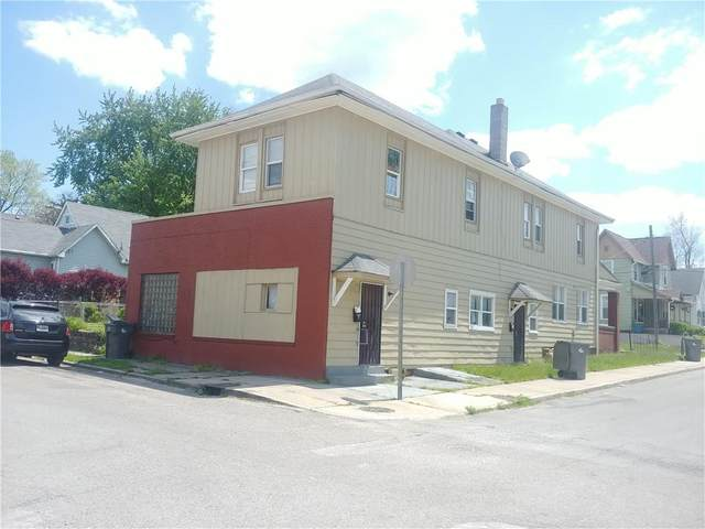 117 E Palmer Street, Indianapolis, IN 46225 (MLS #21803543) :: The Indy Property Source