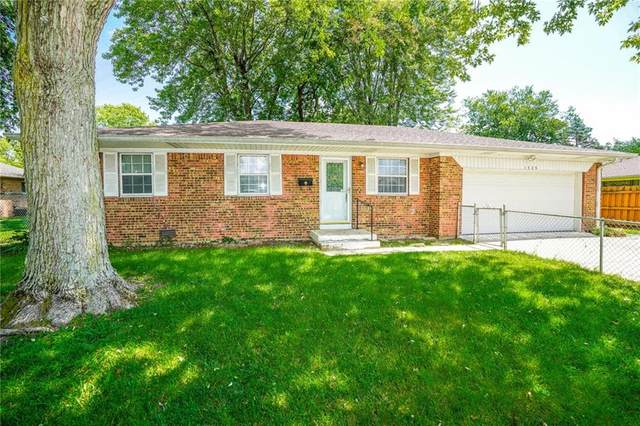 1325 Greenbrook Drive, Indianapolis, IN 46229 (MLS #21803576) :: Mike Price Realty Team - RE/MAX Centerstone