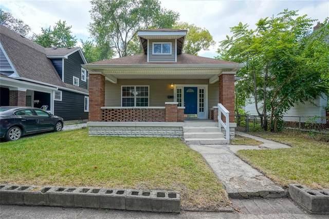 322 N Grant Avenue, Indianapolis, IN 46201 (MLS #21803577) :: Heard Real Estate Team | eXp Realty, LLC