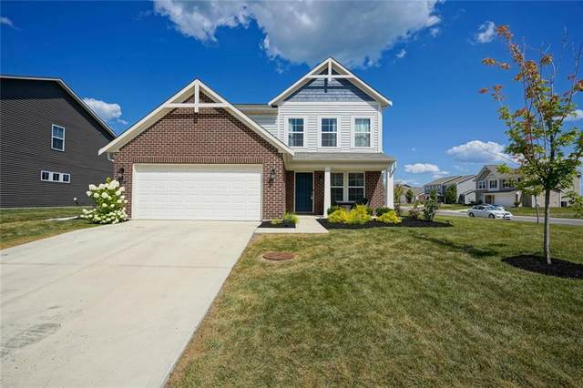 8673 Fawn Way, Mccordsville, IN 46055 (MLS #21803705) :: The Evelo Team