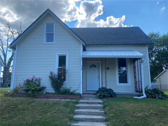 420 Wood Street, Greenfield, IN 46140 (MLS #21803718) :: The Indy Property Source